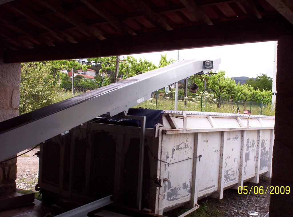 Transportador de lamas residuais Image