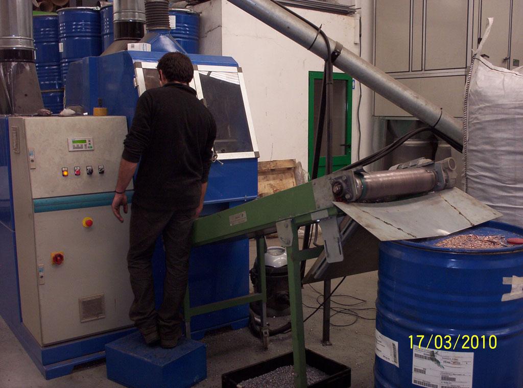 Separação dos resíduos ferrosos Image